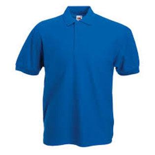 Adult Polo Shirt Royal Blue