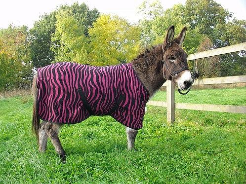 Zebra Fleece Rug