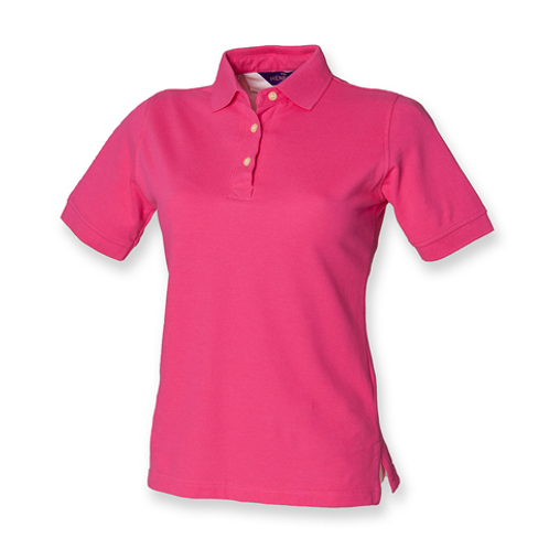 Adult Polo Shirt Hot Pink