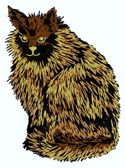 Fluffy Cat #45