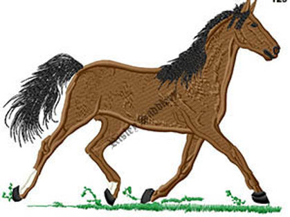 Trotting Horse #129