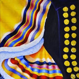 "Oil Painting ""Fullcolor dance"""