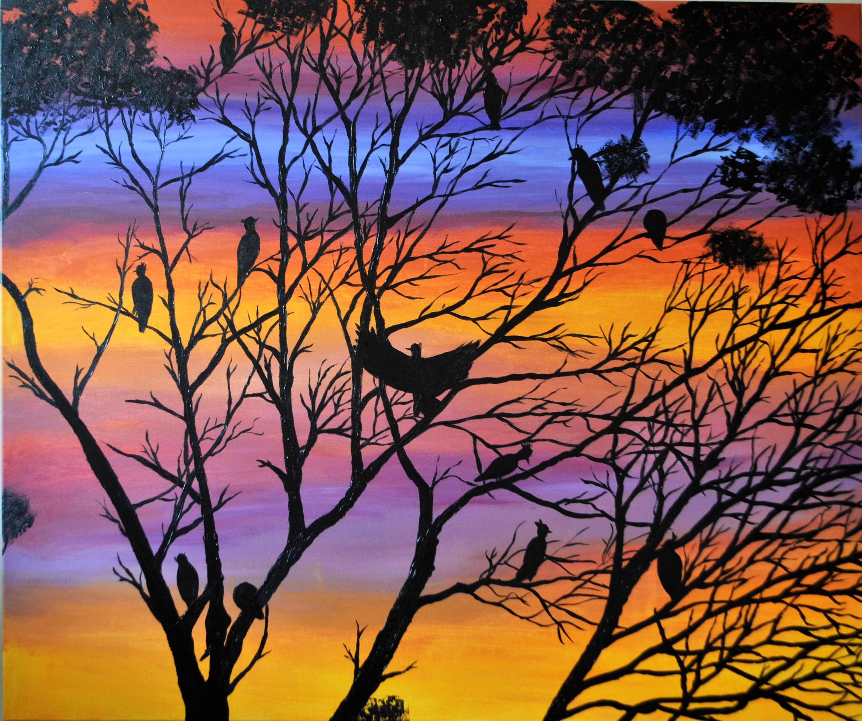 Sleeping Birds 124x90x3, acrylic.JPG