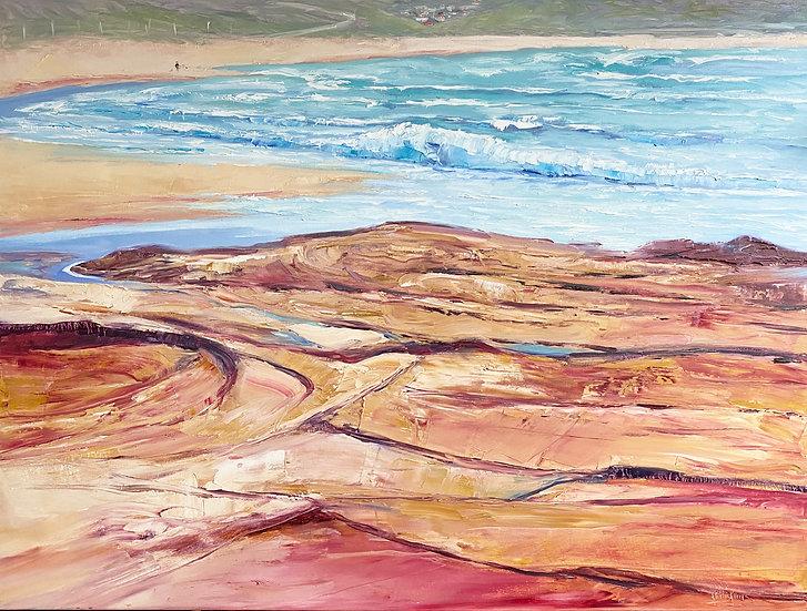 """Dog Beach"" by Kathy Karas"
