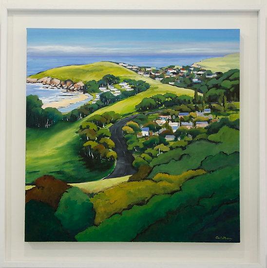 """Kiama Heights Bends"" by Carole Massey"