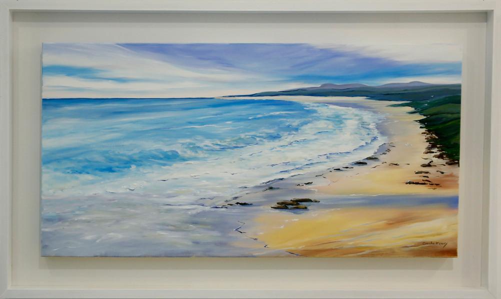 Seventy Mile Beach  Oil on canvas