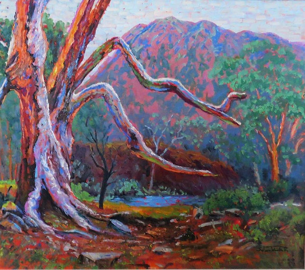 """""""River Red Gum"""" by Salwa Woodroffe"""