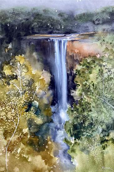 """Carrington Falls"" by Kathy Karas"
