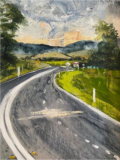 """""""Valley Detour"""" by Kathy Karas"""