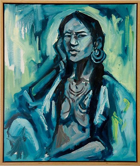 """Native Woman"" by Karolina Venter"