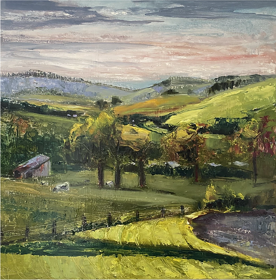 """""""Willow Vale Road"""" by Kathy Karas"""