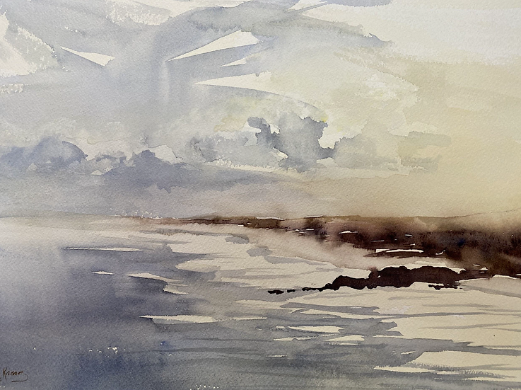 """Sea Mist I"" by Kathy Karas"