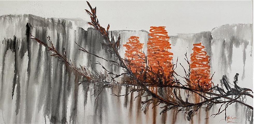 """""""Banksia"""" by Kathy Karas"""