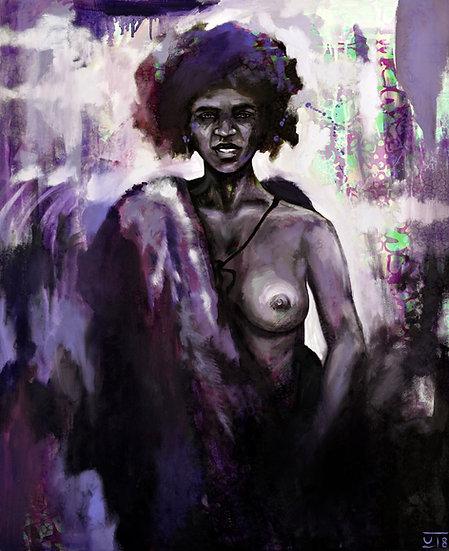 """""""Night Visitor"""" by Karolina Venter"""