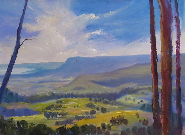"""Saddleback Mountain, Kiama"" by Salwa Woodroffe"