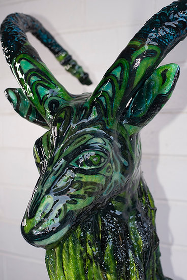 """Goatking"" by Karolina Venter"