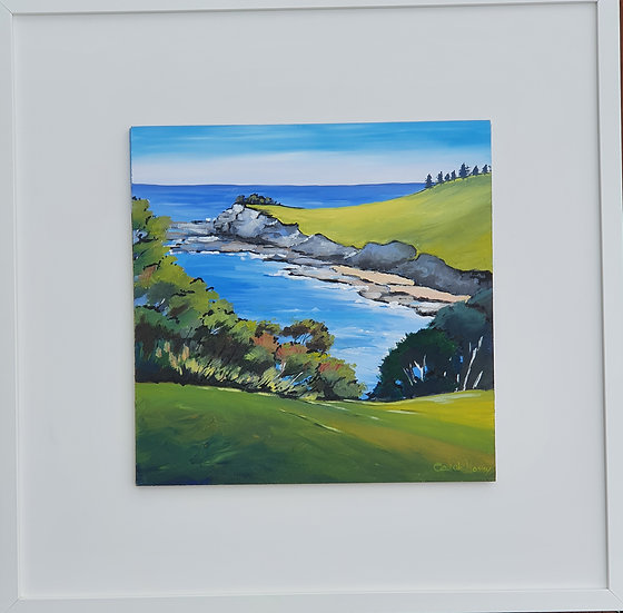 """""""Boat Harbour Bay"""" by Carole Massey"""