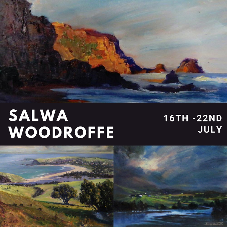 Salwa Woodroffe Exhibition