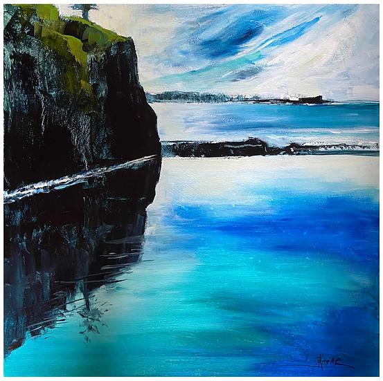"""""""Headland"""" by Kathy Karas"""