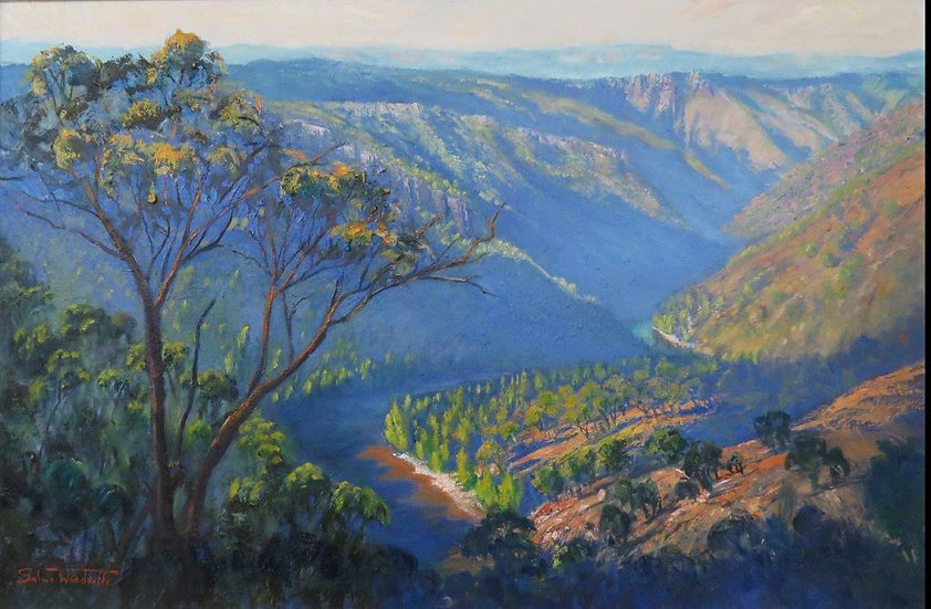 """""""Shoalhaven River"""" by Salwa Woodroffe"""