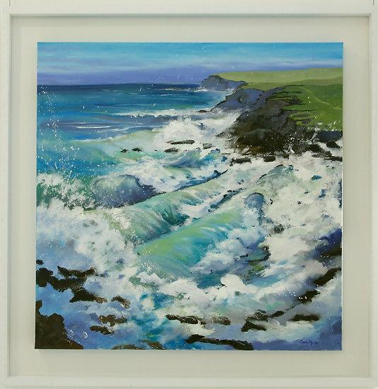 """South Coast Seas"" by Carole Massey"