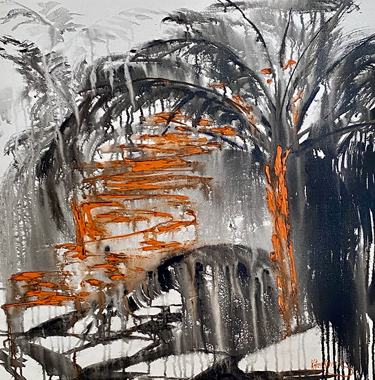 """Valley Pathways"" by Kathy Karas"