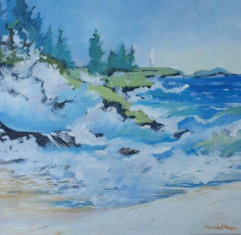 """Waves of Kiama"" by Carole Massey"