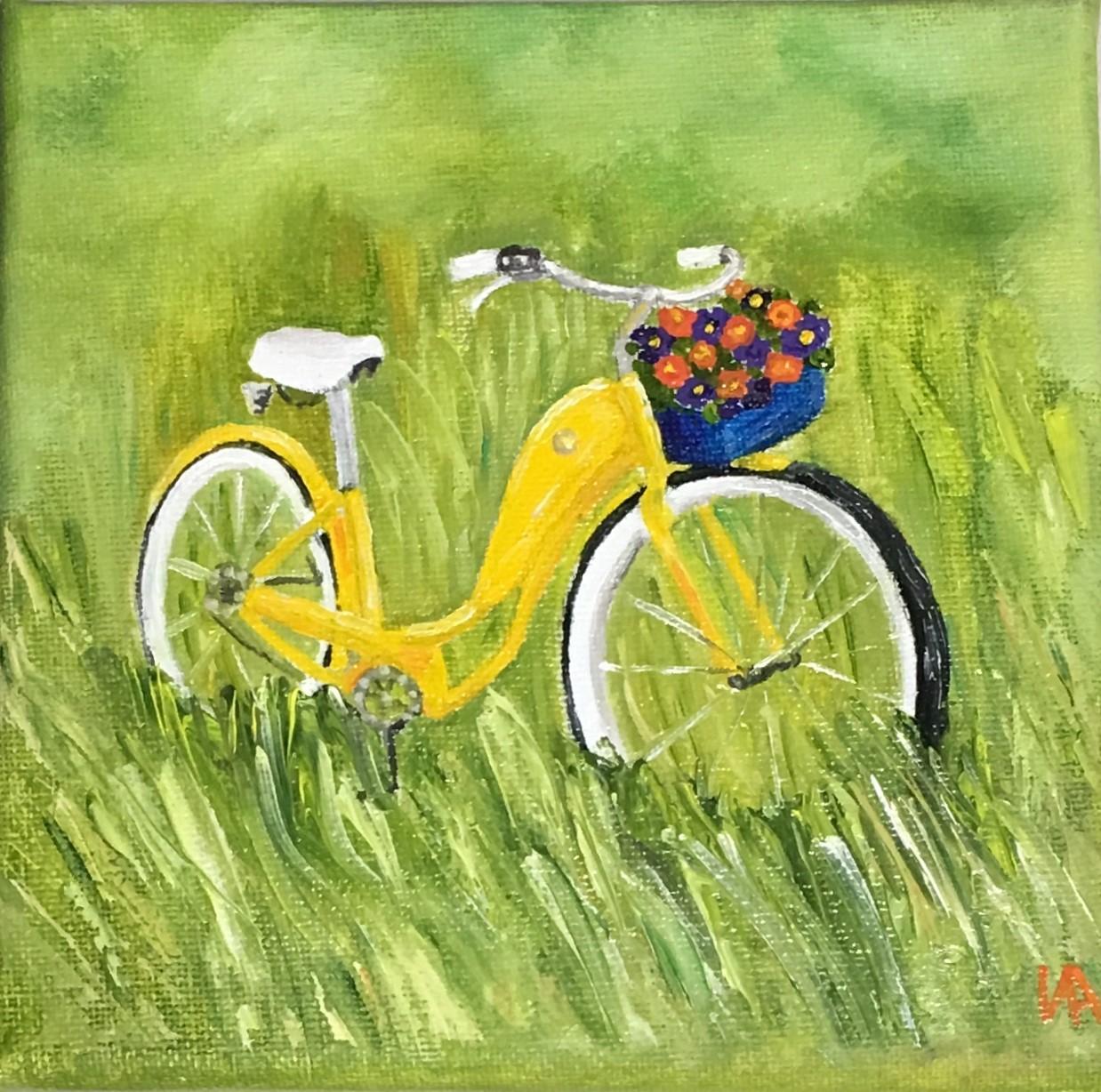 My Deam Bike, 15x15, oil.JPG