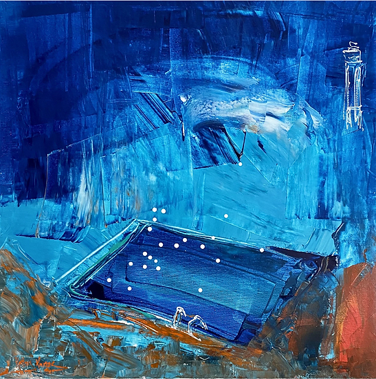 """""""Ocean Pool"""" by Kathy Karas"""