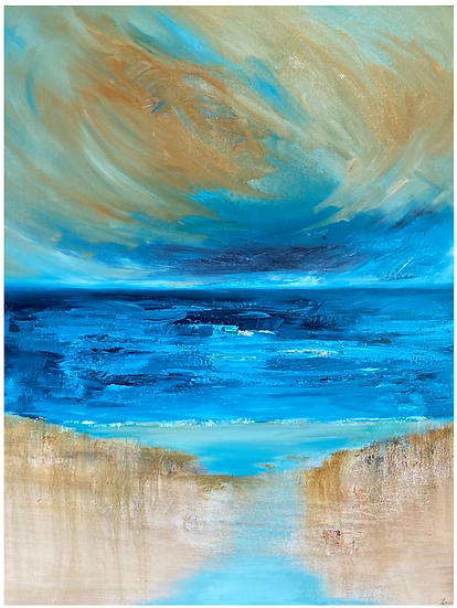 """""""Vortex"""" by Kathy Karas"""