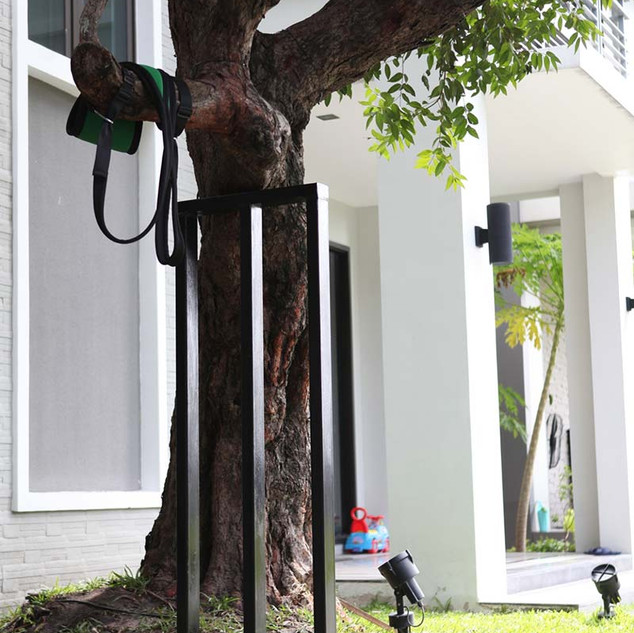 เข็มเหล็ก ค้ำยันต้นไม้บ้านคุณป๋อ 2