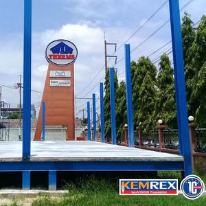 KEMREX warehouse foundation
