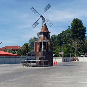 KEMREX Windmill house foundation
