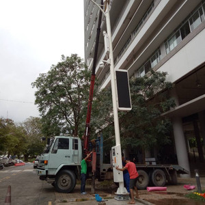 KEMREX Street Light Foundation 2