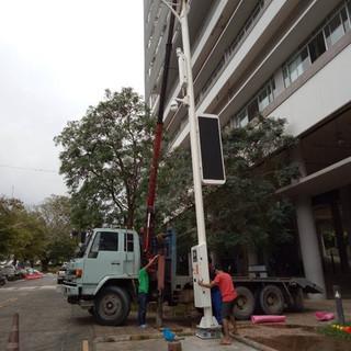 KEMREX Street Light Foundation 2