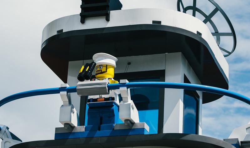 LEGO City Coastguard HQ at the LEGOLAND