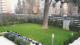 Realizzazione Giardini Vedano la Lambro