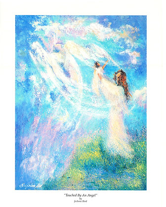 "Touched By An Angel (13""x17"") LIIMTED NUMBER LEFT"