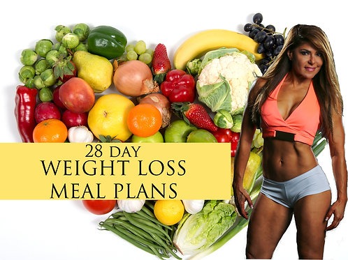 28 Day Weight Loss Meal Plans
