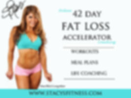 fat loss, workout programs, meal plans, weight loss, in home, personal training, nutrition, easy recipes, life coach, stacy michaels