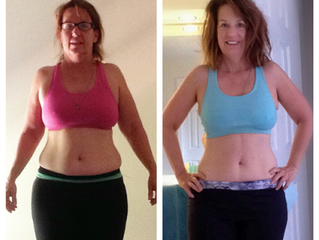Bridget's Weight Loss Story; while tackling menopause & hypothyroidism