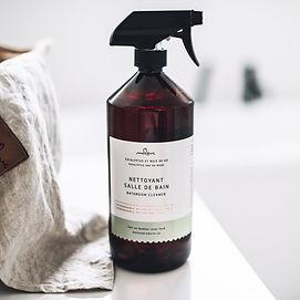 Nettoyant de salle de bain eucalyptus et