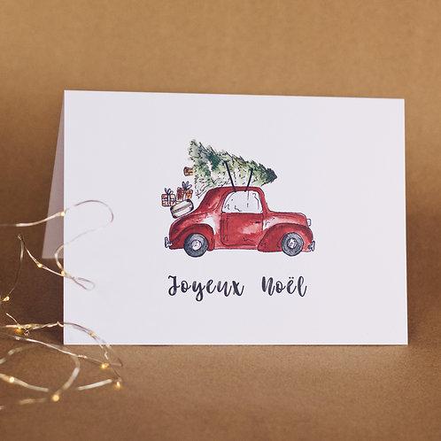 Carte - Santa's car