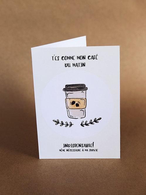 Carte - Mon Café
