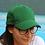 Thumbnail: Casquette brodée vert bouteille