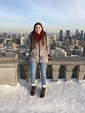 Katarina + Vue du Mont Royal hiver .JPG