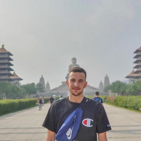 Vivre à Taipei - Matteo étudiant à la NCU