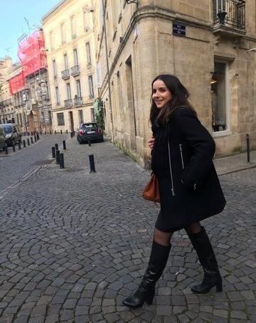 A la découverte de Bordeaux avec Mathilde.