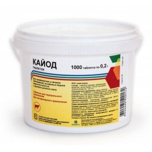 Кайод (калий йодистый) таблетки