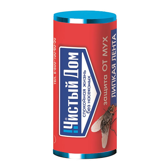 Лента-мухолов Чистый дом